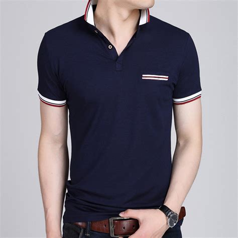 Polo T Shirt Kaos Kerah Nike Sport List polo shirt 2017 summer business casual breathable