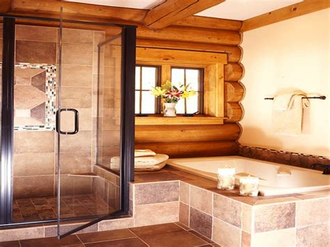 log cabin bathrooms log cabin mastersuite bathroom log cabin master bedroom