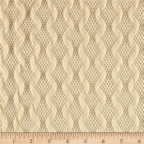 Scotland Sweater Knit Ivory Discount Designer Fabric | scotland sweater knit ivory discount designer fabric