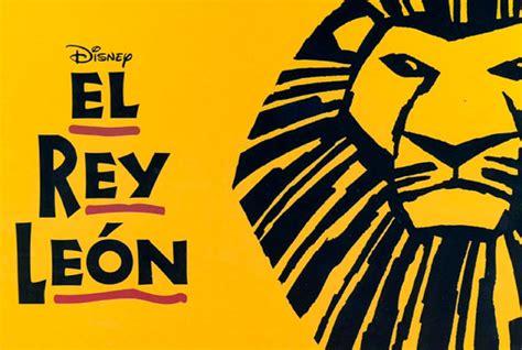 imagenes musical rey leon espect 225 culos en el broadway madrile 241 o