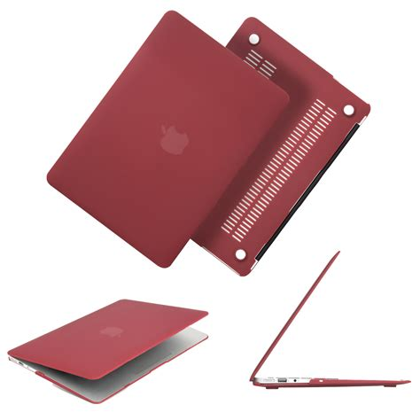 Macbook Air 13 Matte Wine No Logo newest wine color matte for macbook air pro retina 11 12 13 13 3 quot 15 15 6 inch