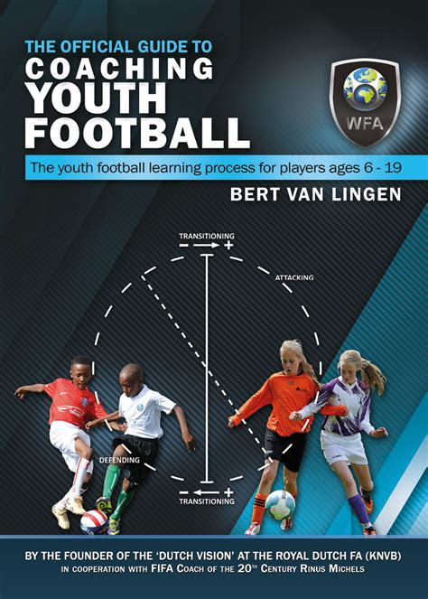 usa football youth coaching handbook books the official guide to coaching youth football wfa webshop