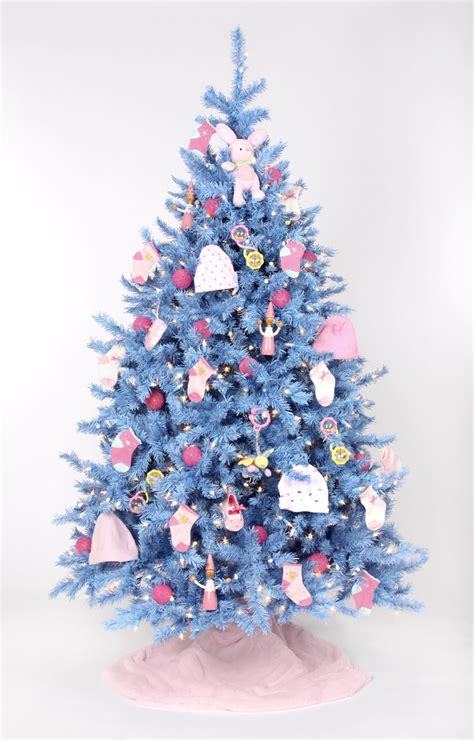 unique blue christmas trees ideas  pinterest