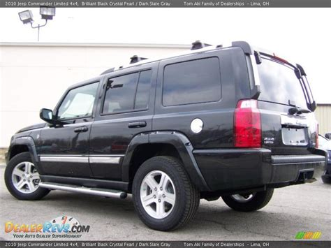 Jeep Commander 4x4 2010 Jeep Commander Limited 4x4 Brilliant Black