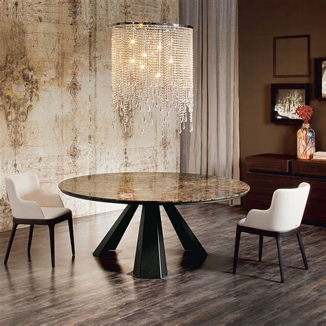 chandelier over table 10 dining tables that will attract your neighbors attention