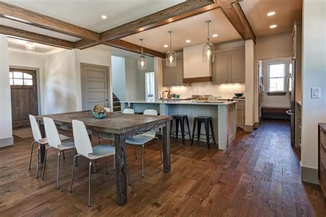 wood kitchen floors hardwood flooring in the kitchen pros and cons coswick