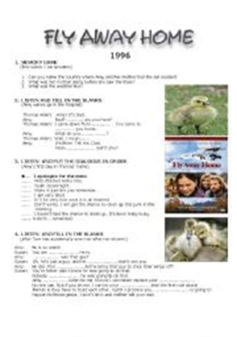 fly away home lesson plan car esl vocabulary car