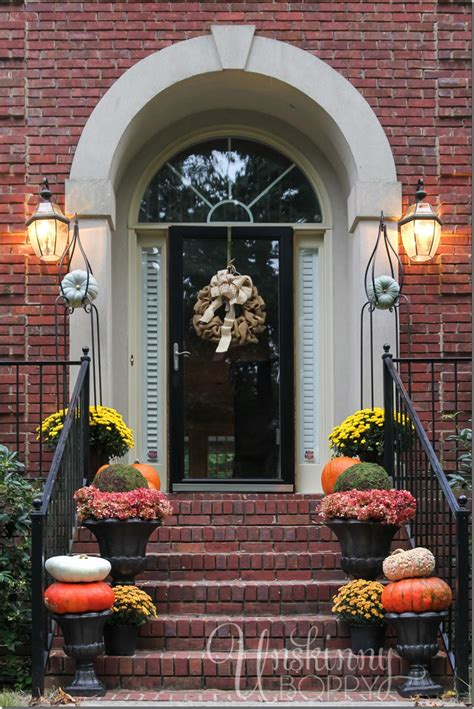 fall decorating on a budget front porch decorating ideas on a budget jbeedesigns