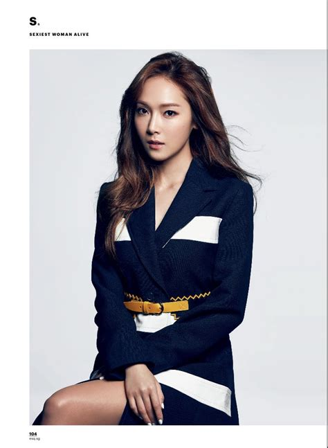 model for petitzel daily k pop news latest k pop news jessica models for esquire singapore daily k pop news