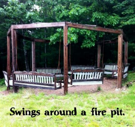 swings around cfire swings around a fire pit random ideas pinterest
