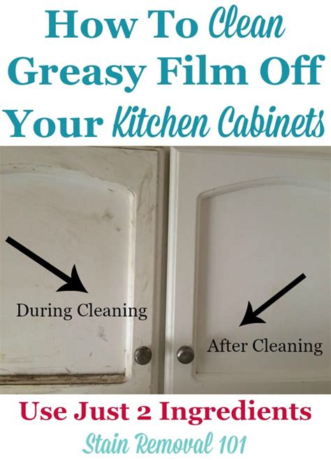 how to clean grease off kitchen cabinets clean kitchen cabinets off with these tips and hints