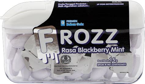 konimex e store frozz blackberry mint