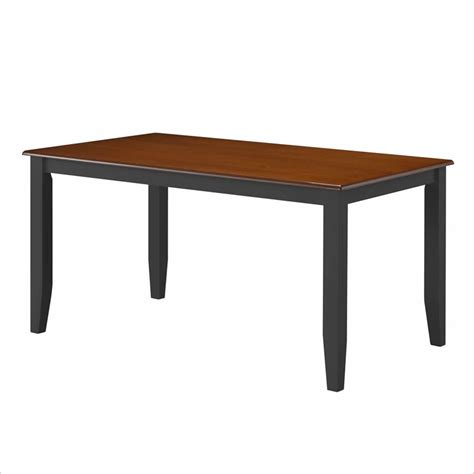 Black And Cherry Dining Table Boraam Bloomington Dining Table In Black Cherry 21030