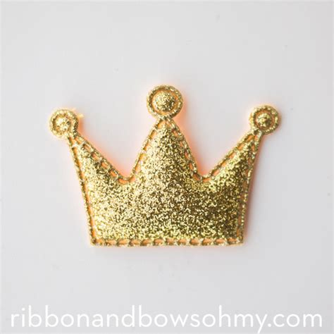 Crown Glitter glitter crowns ribbon and bows oh my