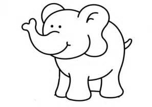 Animales Elefante Colouring Pages Page 2 sketch template