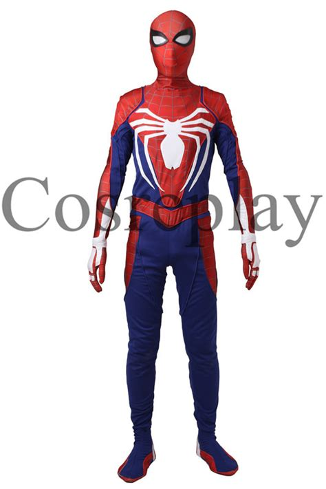 spider man ps bodysuit cosplay halloween costume outfit