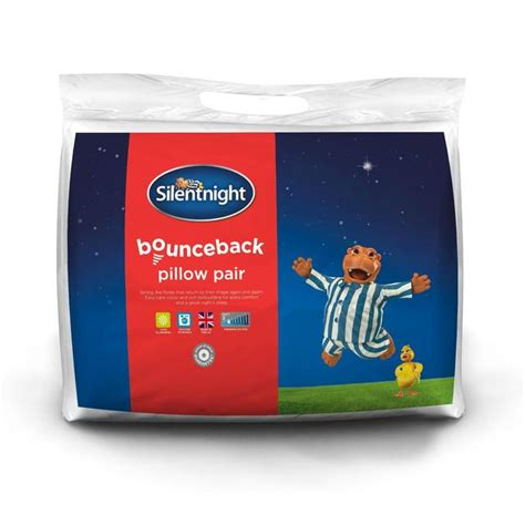 Silentnight Bounceback Pillows by Silentnight Bounceback Pillow Pair Soft 2 Per Pack From Ocado