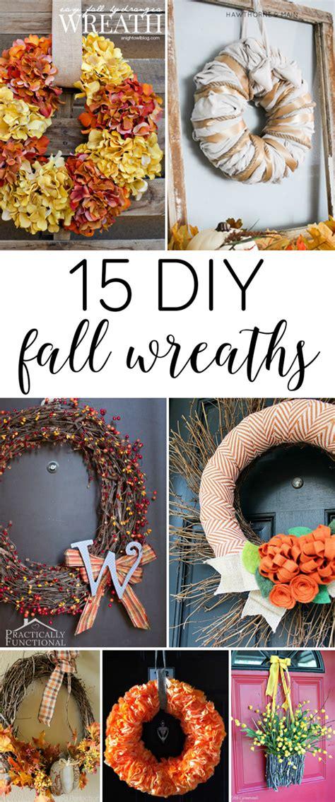 15 diy fall wreaths