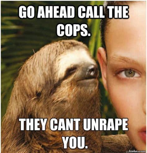Creepy Sloth Meme - sloth meme