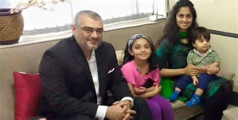 actor ajith and family jfw exclusive ajith shalini shiva and friends head to