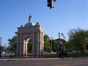 Tires For Less Junction City Ks Panoramio Photo Of Civil War Memorial Arch Zinc White