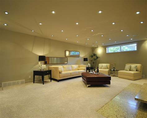 What Are Some Good Basement Lighting Ideas The Reno Pros Basement Ceiling Lights
