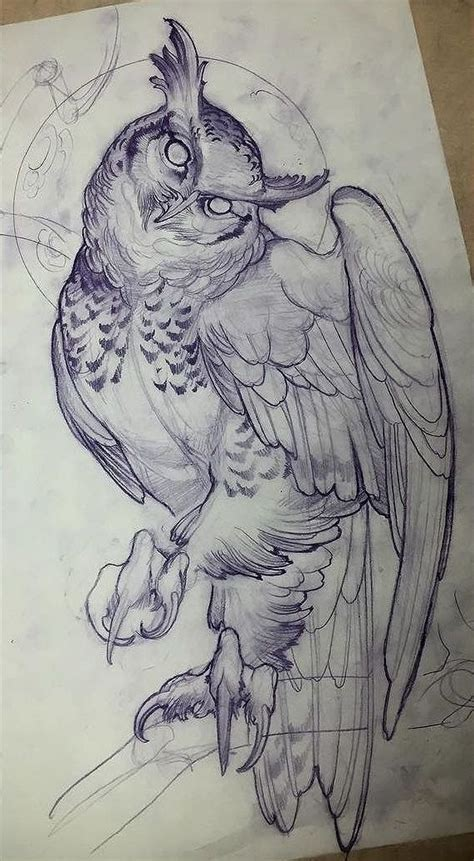 tattoo sketch designs best 25 owl design ideas on owl