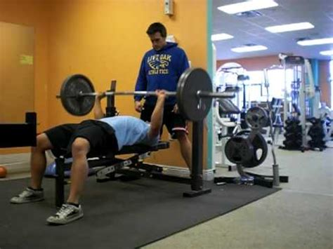 185 bench press bench press 225 16 reps paul allyn19 yrs old 185 lbs