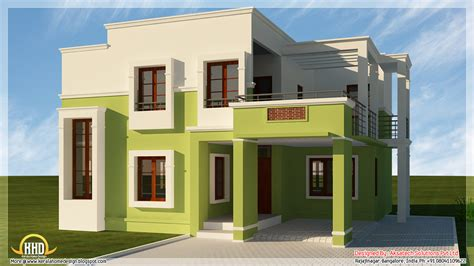 modern house plan 5 beautiful modern contemporary house 3d renderings kerala home design kerala house plans home
