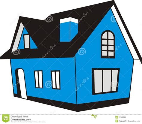 i have a blue house with a blue window manse cartoons illustrations vector stock images 1 pictures to download from