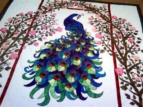 quilt pattern peacock peacock quilt quilts pinterest