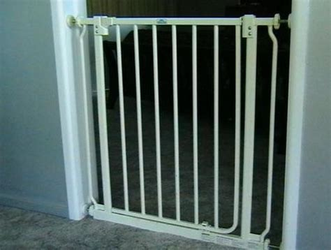 baby gate with swing door safety gates dream baby swing closed gate was sold