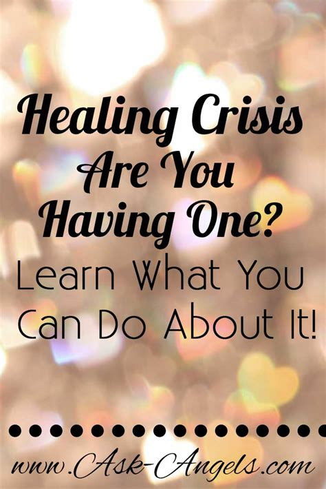 Detox Healing Crisis Symptoms by What S A Healing Crisis Are You One