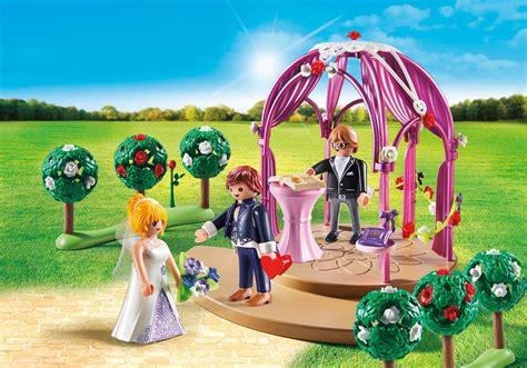 Hochzeit Playmobil hochzeitspavillon mit brautpaar 9229 playmobil