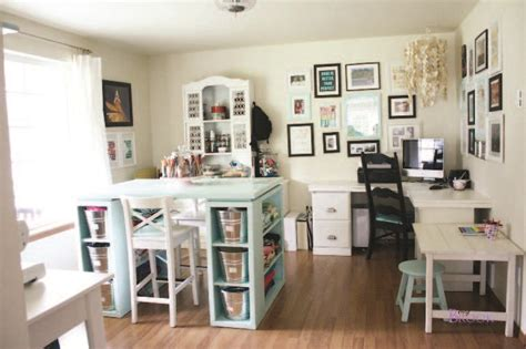 craft room layout a space of your own designing the craft room