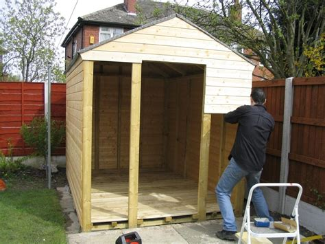 Constructing A Shed by Building A Shed By Yourself