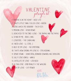 valentines songs list day playlist s day