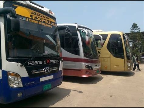 ac buses  bdpartair conditioned buses  bangladesh part  youtube