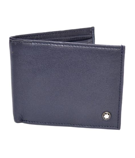 Montblanc Leather 1 mont blanc leather designer s wallet buy at