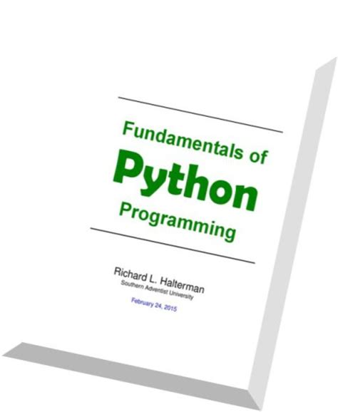 fundamentals of python programs books fundamentals of python programmin pdf magazine