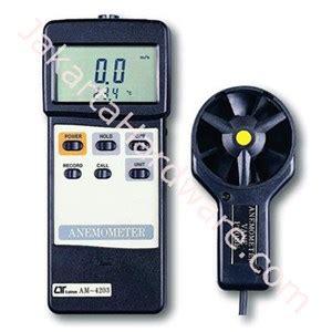 Jual Anemometer Digital Lutron Am 4202 jual anemometer lutron am 4203 murah harga spesifikasi