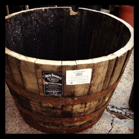 Half Wine Barrel Planters For Sale by How To Prepare Half Whiskey Wine Barrel Planter Our