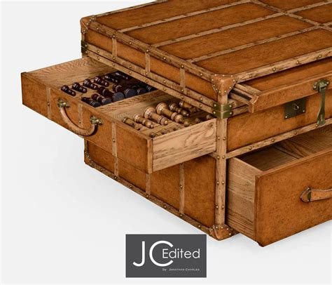 coffee table charming trunk style trunk style coffee tables travel trunk style coffee
