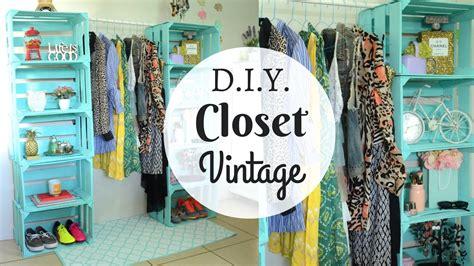 wandschrank vintage d i y has tu propio closet vintage itziland