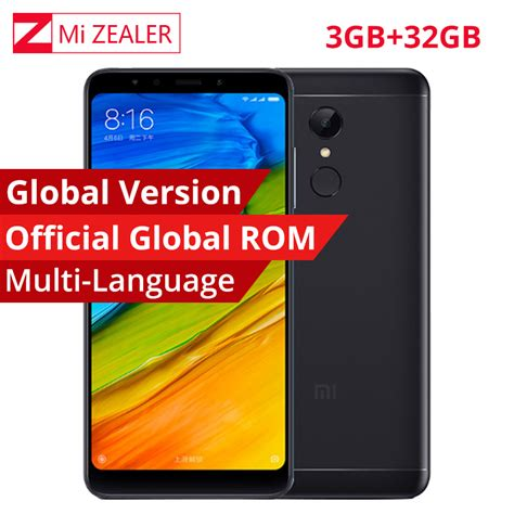 Xiaomi Mi 5 3 32 White Global Rom Garansi 1tahun aliexpress buy global version support ota xiaomi redmi 5 plus 3gb ram 32gb rom snapdragon