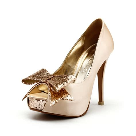 Gold Heels For Wedding by Chagne Wedding Heels Chagne Gold Wedding By