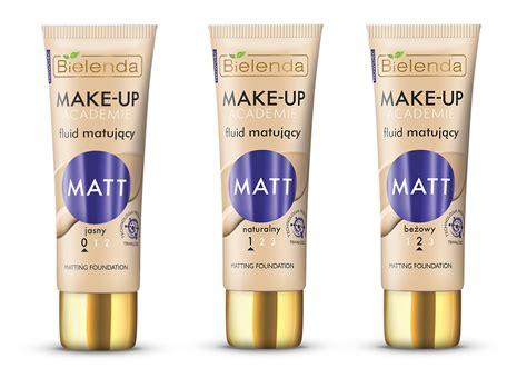 matt make up make up academie fluid matujący matt bielenda