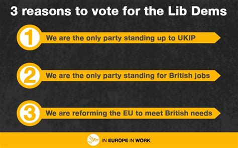 7 Reasons To Vote by 3 Reasons To Vote Lib Dem Today