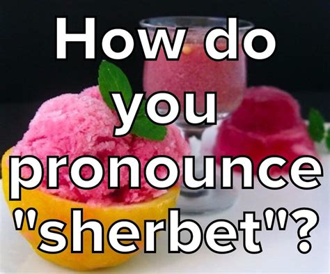 how do you pronounce do you pronounce these foods correctly