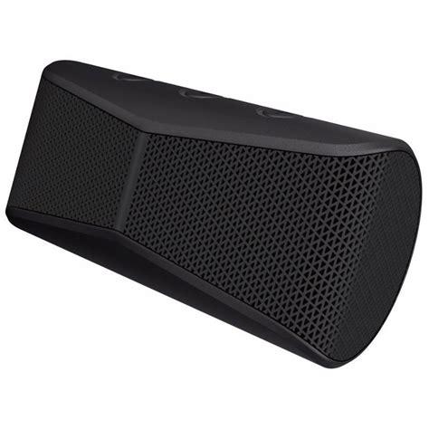 Speaker Bluetooth Logitech X300 logitech x300 mobile wireless stereo bluetooth speaker black silver 984 000633 mwave au